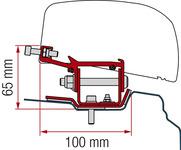 Adaptateur pour auvent de toit F40van Renault Trafic à partir de 2014 empattement court