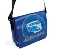 """VW Collection Schultertasche""""Bulli"""",aus LKW-Plane,28x23x7cm, blau"""