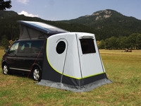 Rear Tent UPGRADE 2 - especially for VW T5 + T6
