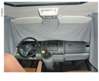 Gardin kabine grå uigennemsigtig Mercedes Vito / Metris