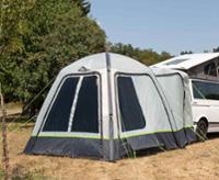 Inflatable, free-standing rear tent - Uni Van Air