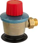 Gas regulator adapter clip-on 35mm