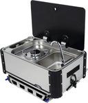 SL1323.LC/LL Slideout gaskomfur, enkeltflamme med Spåle
