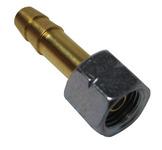 Overgangsmøtrik 1/4\venstre + 9 mm spigot