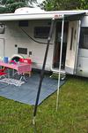 Sturmbefestigungskit für Markisen 2x3m, schwarz
