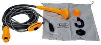 Outdoor-Dusche 12V mit Tauchpumpe+Schalter