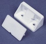 Møbelforbindelse med hætte, hvid. 10 stk. SB-pakket
