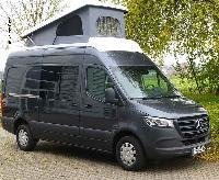 Schlafdach für Mercedes Sprinter 6 m Fahrzeuglänge