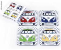VW Collection Untersetzer, 4er-Set, Bulli-Front