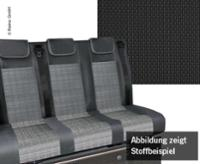 Schlafsitzbank VWT6.1, Trio Style V3000 Gr.10 3-sitzig Briks 2fbg Wärmetausch.