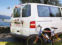 Fahrradträger Heckklappe VW T5 FIAMMA Carry Bike PRO