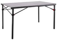 Campingtisch Rauma, Aluminium Rolltisch 120 x 70 cm