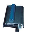 Vorzelteinzugsleiste Aluminium silber, 27x11mm, 2m