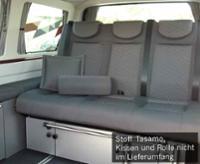 Sovesæde VW T5 V3000 Gr.8 stiv 3-personers pad Tasamo T5 2fbg. Rechtsl.