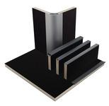 Möbelbauplatte Matt Schwarz Schichtstoff, HPL