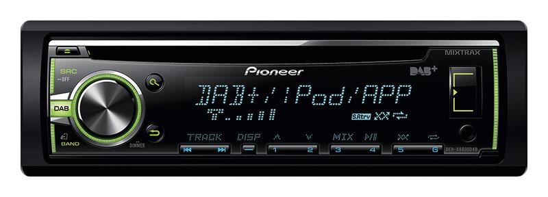 Pioneer Radio DEH-X6800DAB