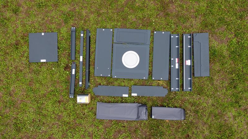 Raumkonzept XXL Sleep - Erweiterung für Kastenwagen L1-L3, H2