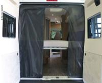 Mosquito net for tailgate Fiat Ducato and identical models