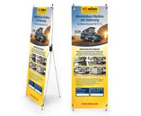 X-Banner Design: T5 Multirail Adapter Thule, tysk