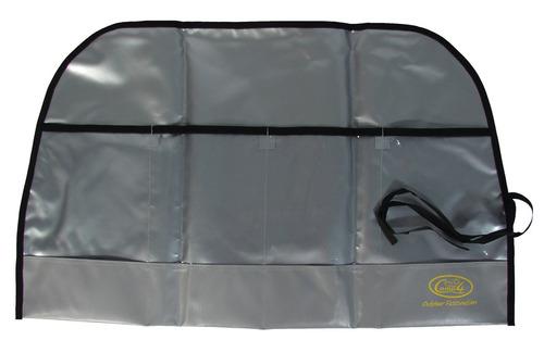 Beskyttelsespose til pinde, sølv
