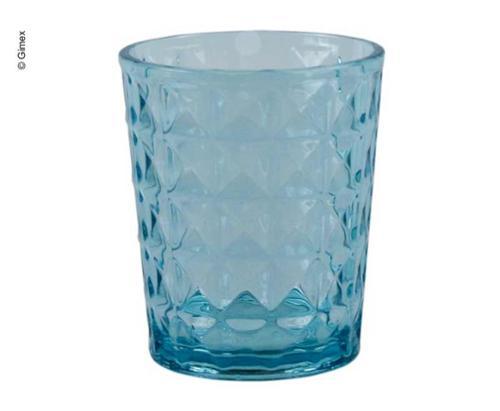 Gimex vízüveg kő vonal drágakő kék