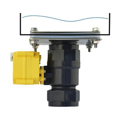 Elektrisk kugleventil 40 mm plast