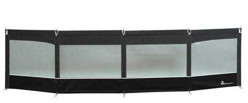 Windschutz Linea, 460x110 cm, granit/schwarz