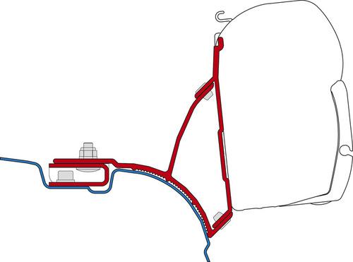 Adaptateur FiammaKit VW T5/T6 Multivan Transporter Multivan