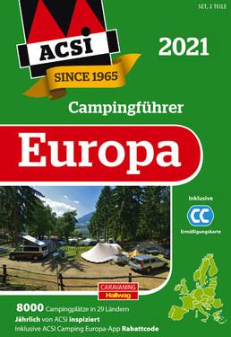 ACSI Camping Guide Europa 2021