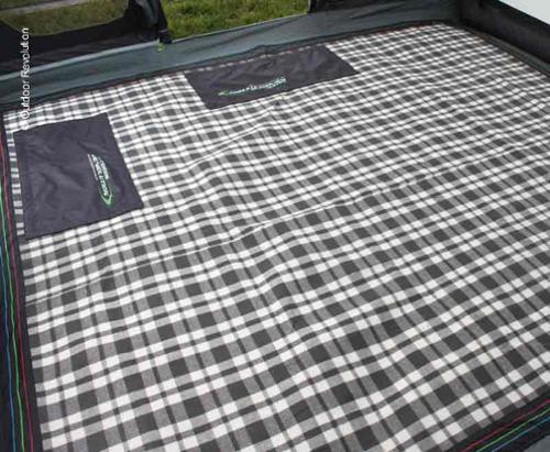 Zeltteppich Snug Rug für AIRDALE 6, 350x265 cm