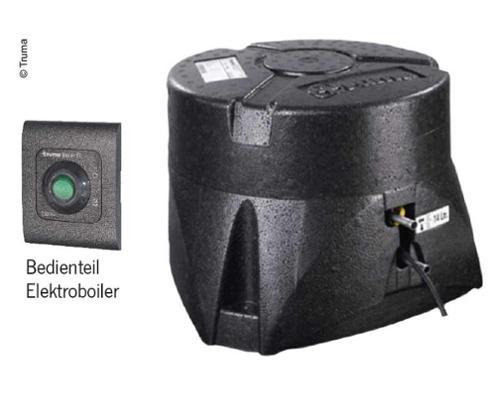 Truma Boiler Elektro, 14 Liter Bedienteil schwarz, ohne Wasserset