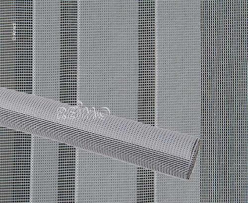 Arisol Safari markiisi, tentti matto harmaa / valkoinen - Teltamatto 2,5 x 3 m