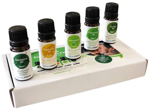 Totalcool Fresh Öle: Citronella,Teebaum,Lemon,Eucalyptus,Pfefferminze