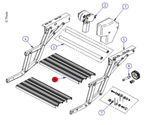 Footboard Double Step 440