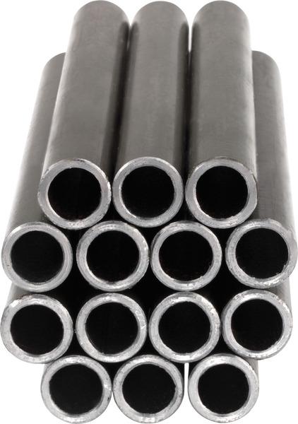 Stahlrohr 10x1 lfm besch.
