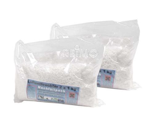 Déshumidificateur d'air granulés 2x 1kg