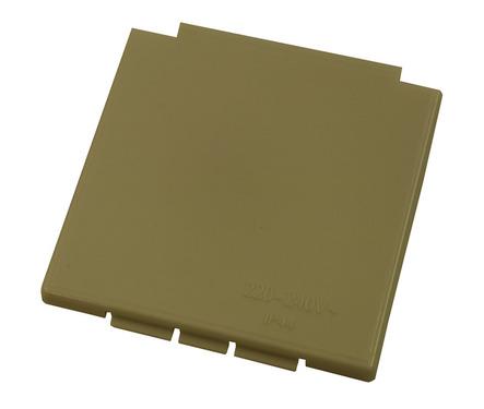 Ersatzdeckel für CEE-Steckdose beige