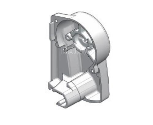 Ersatzteil Dometic/Prostor - Endkappe Wandmarkise rechts weiß