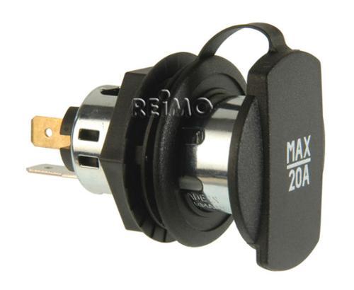 Power socket max. 20A