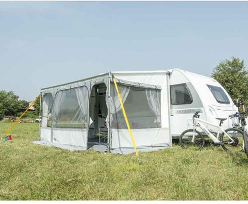 Fiamma ZIP 410 XL - Klud Royal Gray
