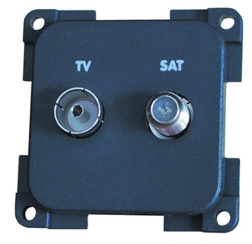 Toma de TV + Satélite - Toma TV+Sat MPTVS