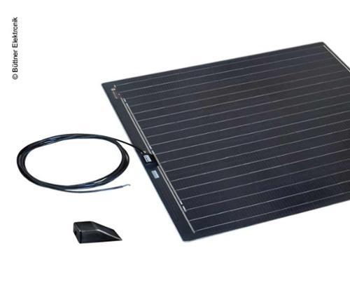 Modulo solare a luce piatta