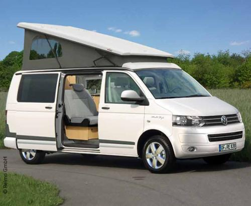 VW T6, VW T5 pop top roof Easy-Fit, LWB, rear pop up, belt lock, climatronic