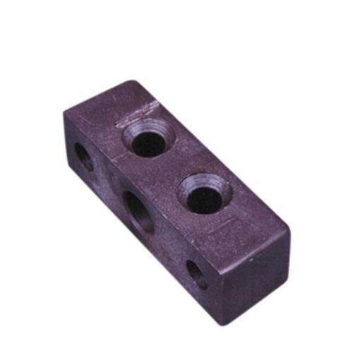 Möbelverbinder: Rechteck-Möbelverbinder braun. Lose