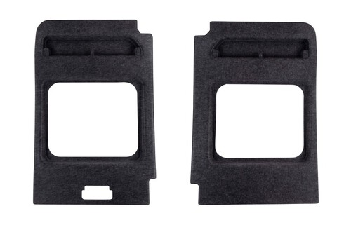 Portierbekleding set achter, 2-delig, antraciet, 1125x9999x99,9mm, BJ 2006