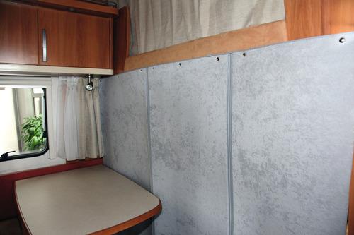 Thermo Trennvorhang für Reisemobile mit Alkoven, Beige