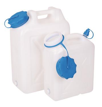 Vandkasse bred hals 22 liter, afrundet form, UV-beskyttelse