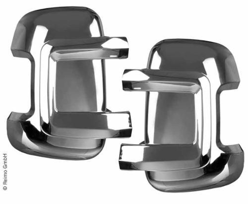 Spiegelbeschermerset Fiat Ducato, lange versie, chroom
