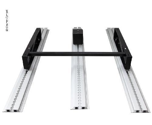 120 mm verhogingsset voor 3-puntsgordelsteun B90 x D56 cm