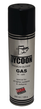 Premium butangas 250 ml